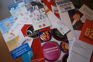 Documents recueillis lors de mon passage au salon Synergie Saguenay.